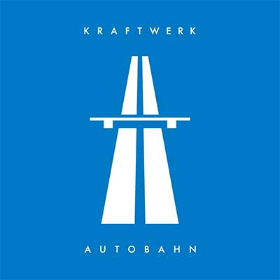 Album cover for Autobahn by Kraftwerk