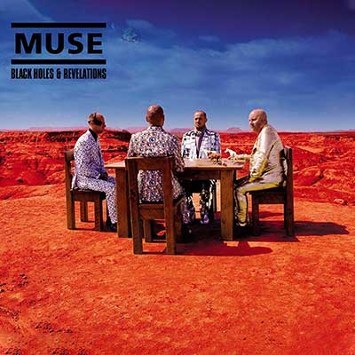 Album cover for Black Holes and Revelations by Muse