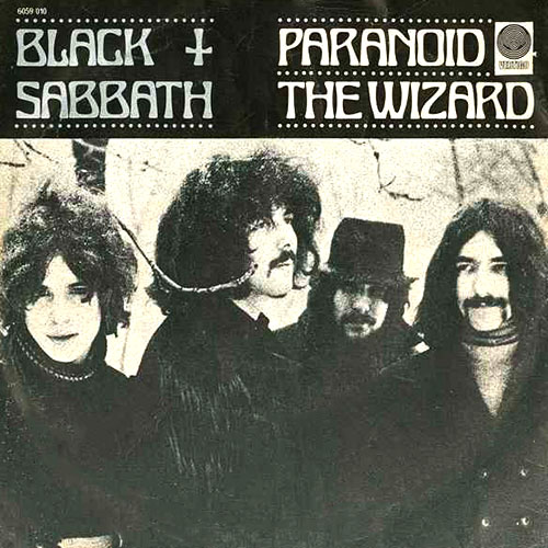 Album cover for Paranoid by Black Sabbath