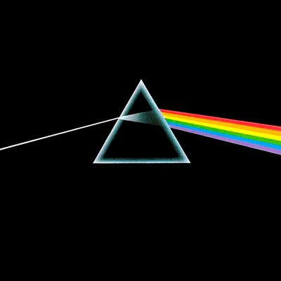 Album cover for The Dark Side Of The Moon by Pink Floyd