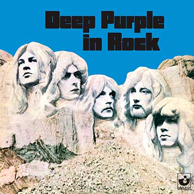 Album cover for In Rock by Deep Purple