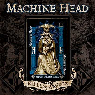 Album cover for Killers & Kings by Machine Head