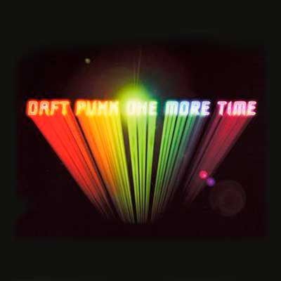 Album cover for One More Time by Daft Punk
