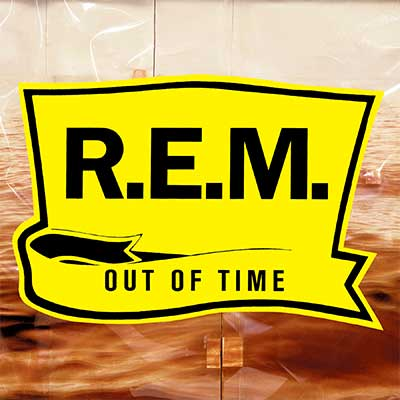 Album cover for Out Of Time by R.E.M.