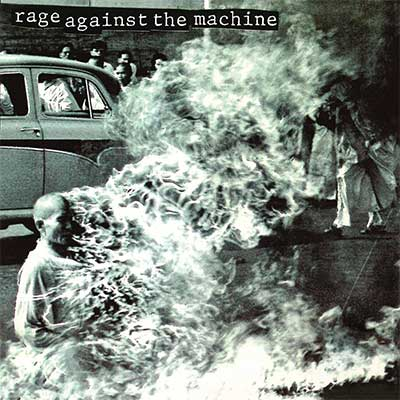 Album cover for Rage Against The Machine by Rage Against The Machine
