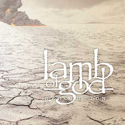 Album cover for Resolution by Lamb of God