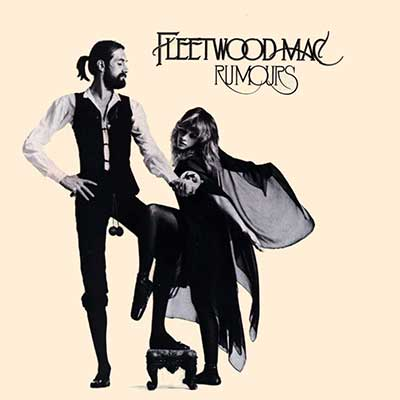 Album cover for Rumours by Fleetwood Mac