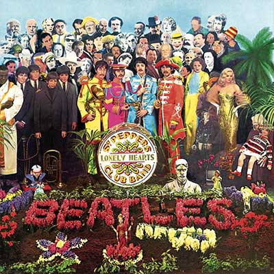 Album cover for Sgt. Peppers Lonely Hearts Club Band by Beatles, The