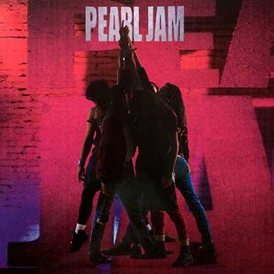 Album cover for Ten by Pearl Jam