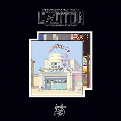 Album cover for The Song Remains The Same by Led Zeppelin