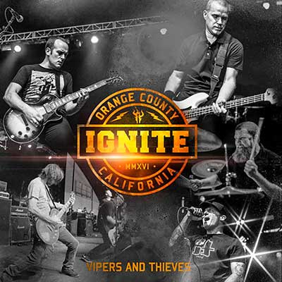 Album cover for Vipers and Thieves by Ignite
